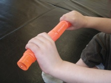 Tubes to Make the Arms, Wrists and Hands Strong